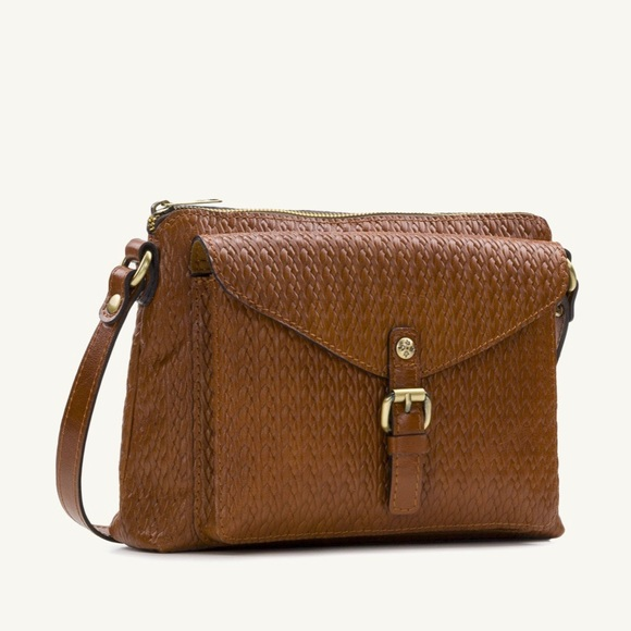 Patricia Nash Handbags - Patricia Nash Twisted Woven Crossbody Shoulder Bag